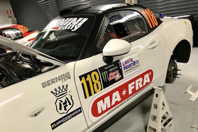 MAFRA con Abarth al Monza Rally Show, uno spettacolo tutto italiano [INTERVISTA]