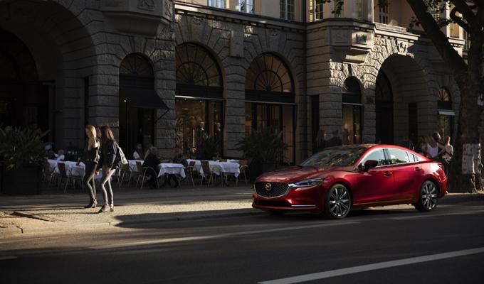 Mazda6: la nuova ammiraglia introdotta a Los Angeles [FOTO]
