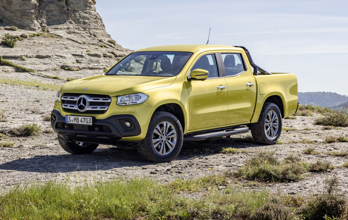 Mercedes Classe X: il pick-up conquista le 5 stelle Euro NCAP [VIDEO]