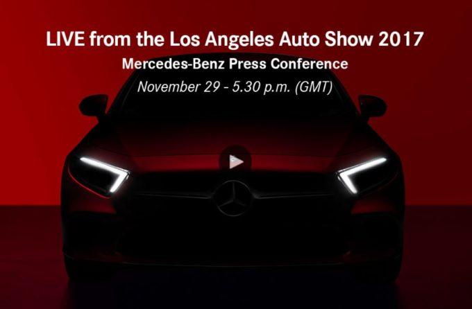 Mercedes: le protagoniste del Salone di Los Angeles 2017 [LIVE STREAMING]