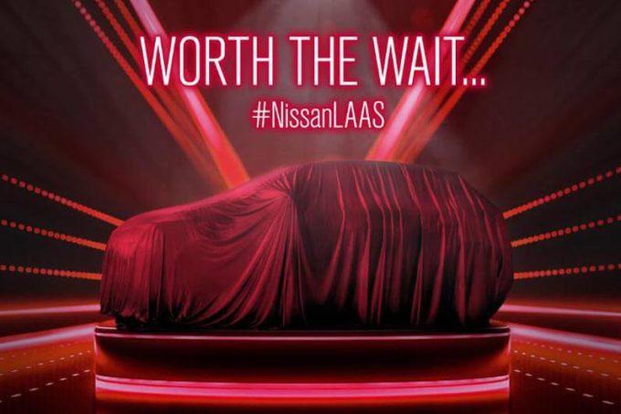 Nissan, nuovo crossover in arrivo al Salone di Los Angeles 2017 [TEASER]