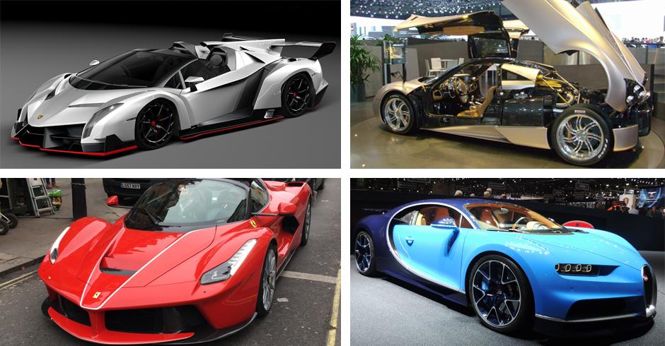 Le 10 supercar più costose al mondo