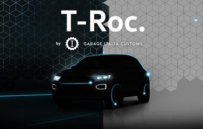 Volkswagen T-Roc, in arrivo due edizioni speciali firmate Garage Italia Customs [TEASER]