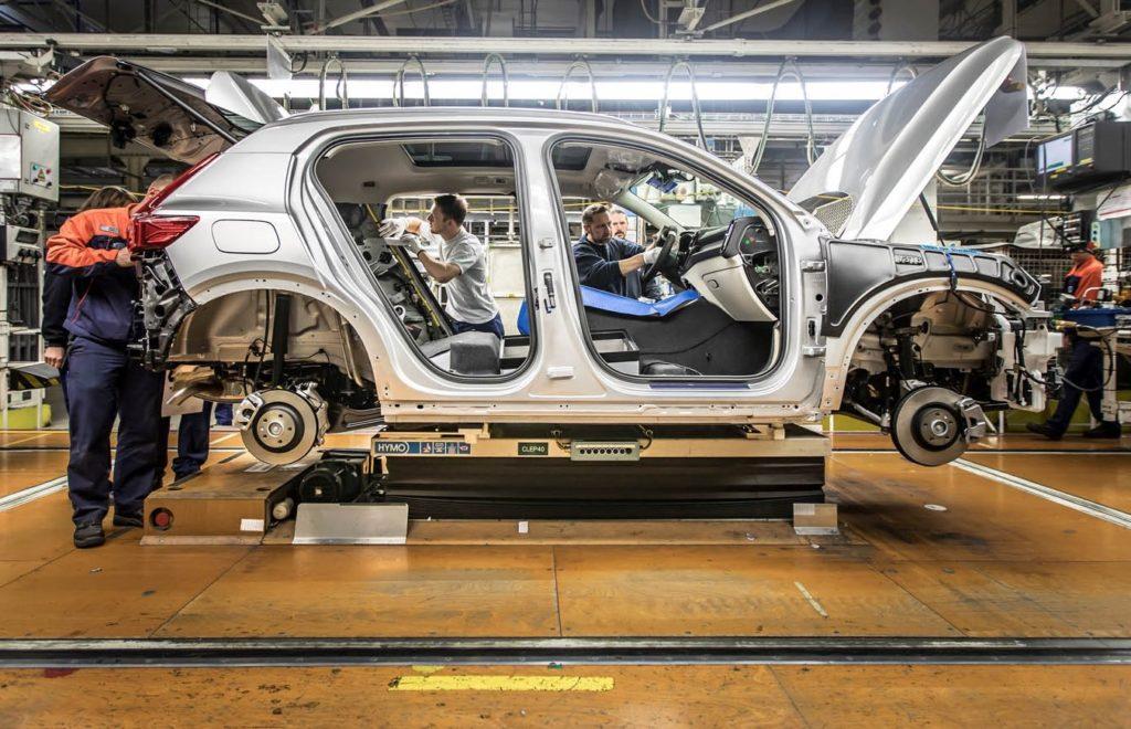 Volvo Xc40 I Primi Esemplari Sono Pronti A Uscire Dall