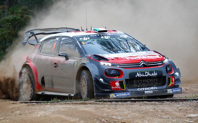 Rally di Australia, Citroen: il settimo assoluto di Meeke chiude la stagione 2017