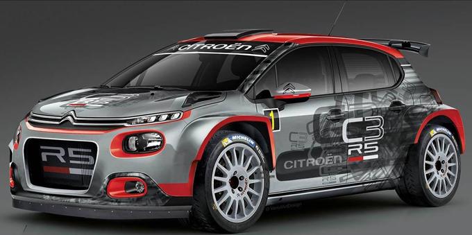 Citroen C3 R5: ecco la livrea per il Rallye du Var