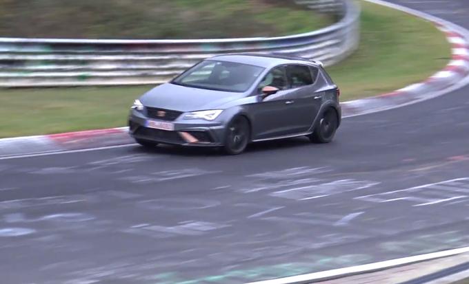 Seat Leon Cupra R, un esemplare gira al Nurburgring: obiettivo record? [VIDEO]