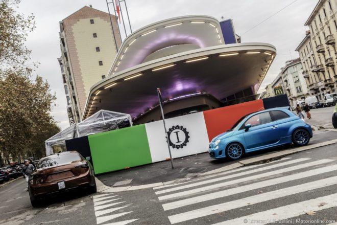 Garage italia customs apre la sede di piazzale accursio a for Piani di garage con lo spazio del negozio