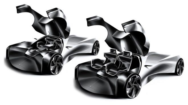 jaguar space type concept il futuro oggi rendering. Black Bedroom Furniture Sets. Home Design Ideas