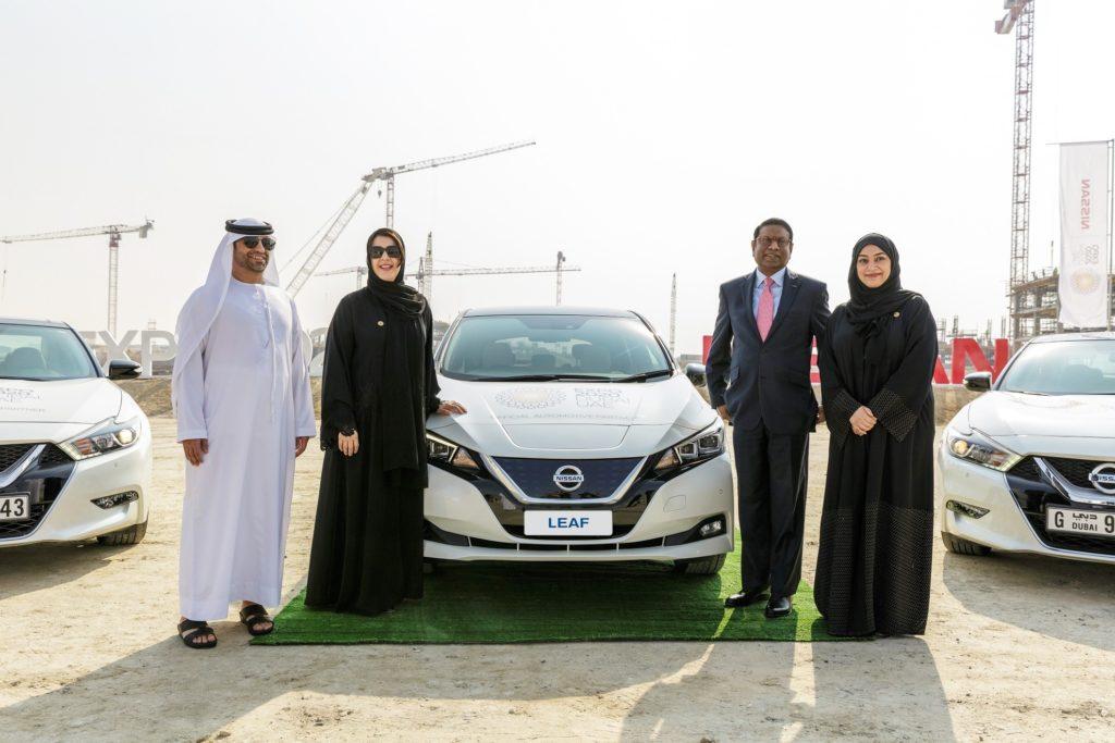 Nissan ed Expo 2020 Dubai: collaborazione in nome della mobilità sostenibile [VIDEO]