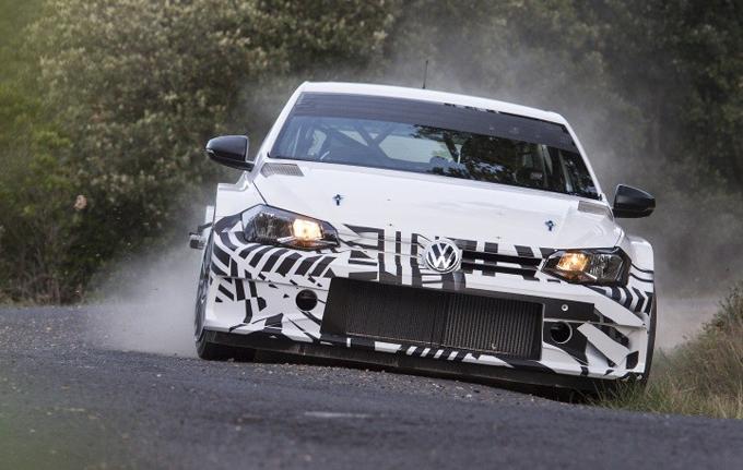 Volkswagen Polo GTI R5: effettuato il primo test su asfalto