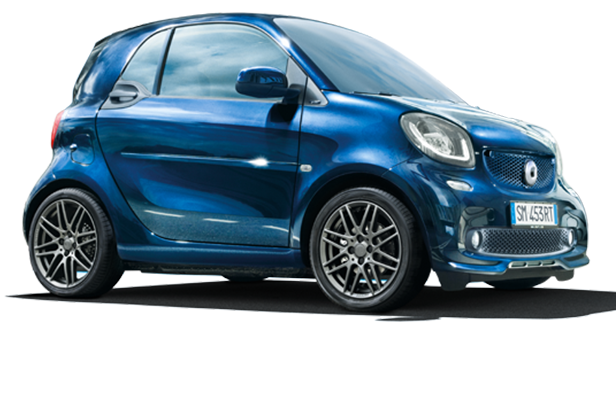 Smart fortwo Sapphire Blue
