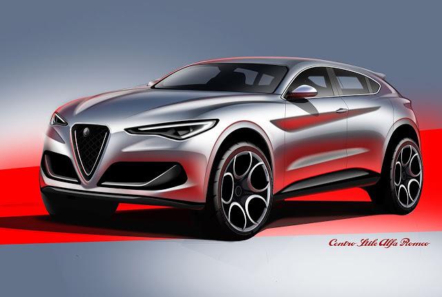 Alfa Romeo: un grosso Suv ibrido è all'orizzonte