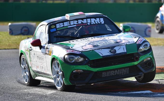 Abarth al Monza Rally Show con sei 124 rally