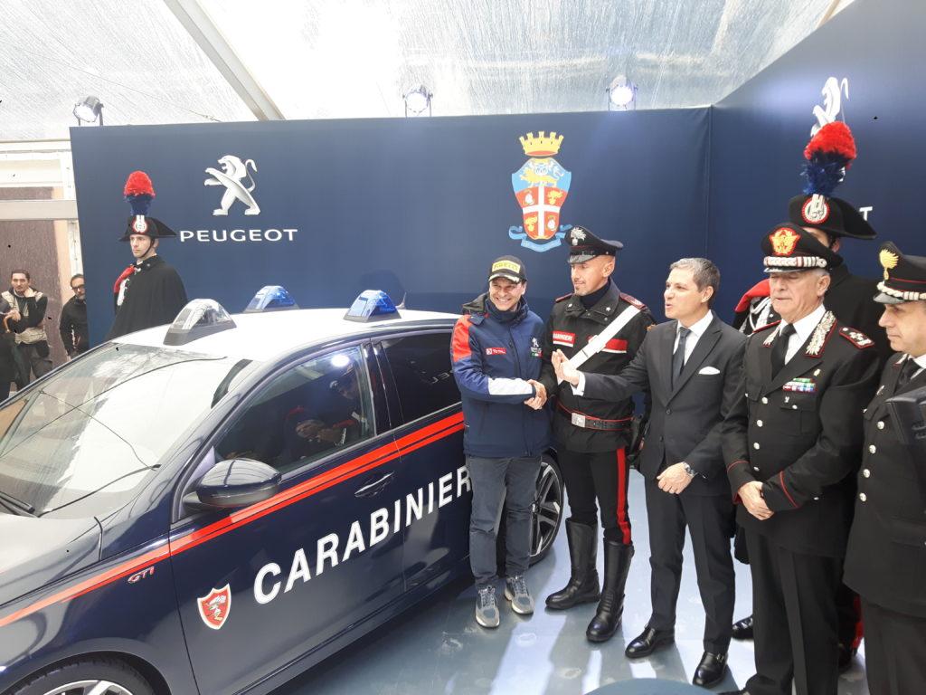 Una Peugeot 308 GTi by PS per i Carabinieri