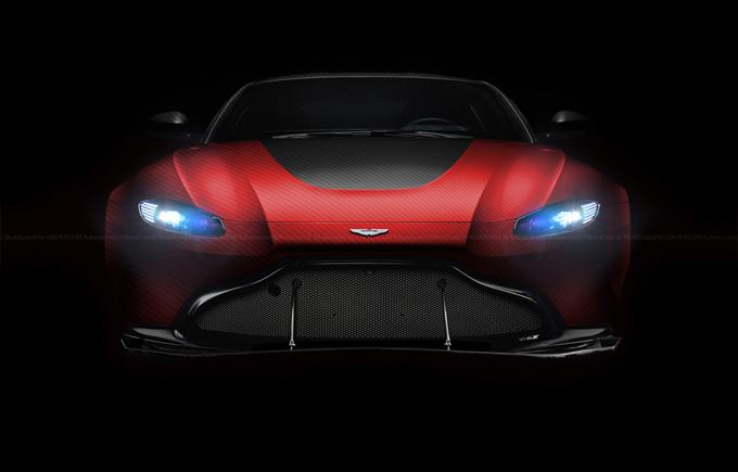 Aston Martin Vantage 2018: immaginata col tuning di Liberty Walk [RENDERING]