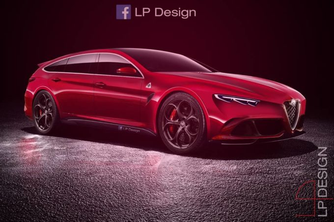 alfa romeo essenza una shooting brake cos non si era mai vista rendering. Black Bedroom Furniture Sets. Home Design Ideas