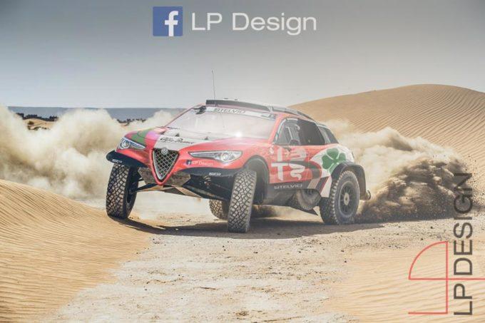 Alfa Romeo Stelvio: come la vedreste una versione per la Dakar? [RENDERING]