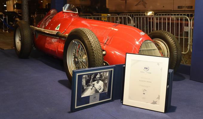 Alfa Romeo 158: omaggiato il ritorno del Biscione in Formula 1 all'apertura della FIA All of Fame [FOTO]