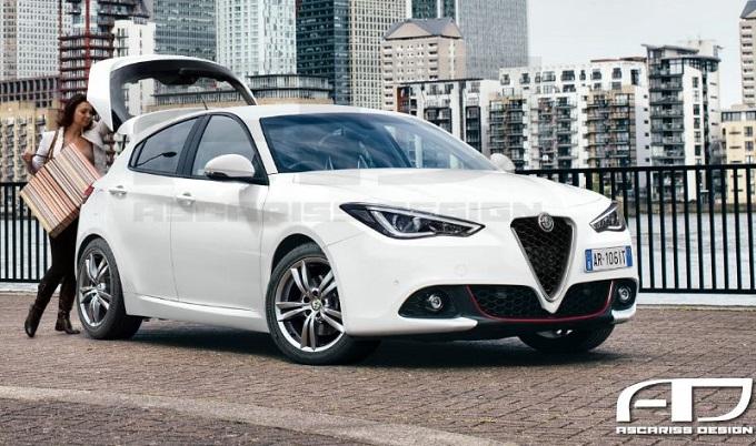 Alfa Romeo Giulietta: ipotesi stilistica della nuova compatta di Arese [RENDERING]