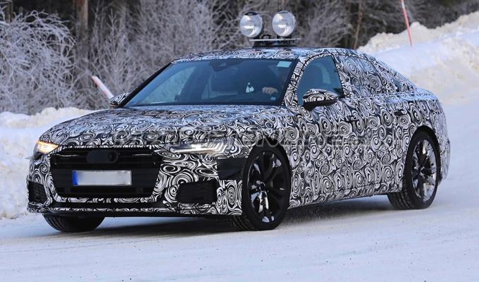 Nuova Audi A6: sorpreso ancora un esemplare di prova [FOTO SPIA]