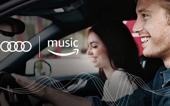 Audi introduce Amazon Music su gran parte della sua gamma