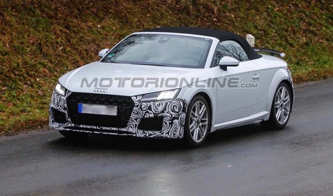 Audi TT 2020: avvistati degli esemplari di prova della versione aggiornata [FOTO SPIA]