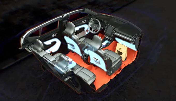 Volvo Xc40 Vanta Una Eccellente Gestione Degli Spazi