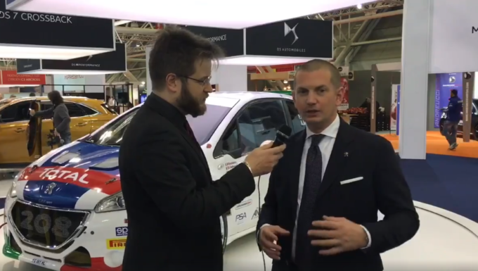 Peugeot: sportività in bella mostra al Motor Show 2017 [VIDEO INTERVISTA]