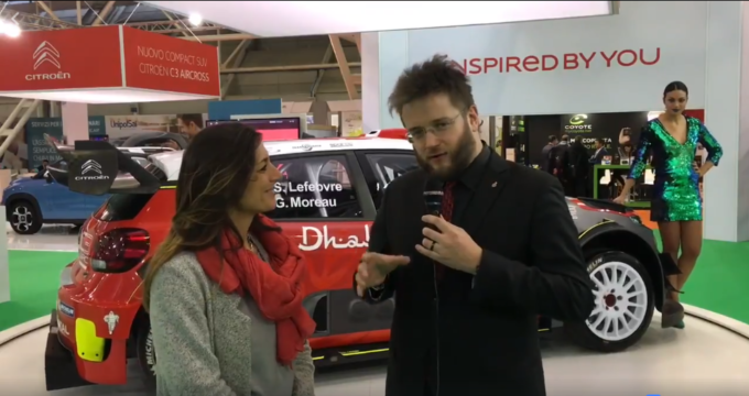 Citroen: la C3 WRC ruba la scena al Motor Show 2017 [VIDEO INTERVISTA]