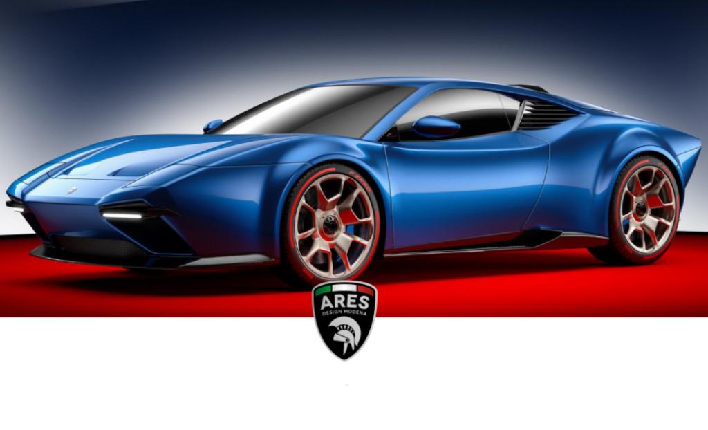 Ares Project Panther: omaggio alla De Tomaso Pantera con cuore Lamborghini [GALLERY]