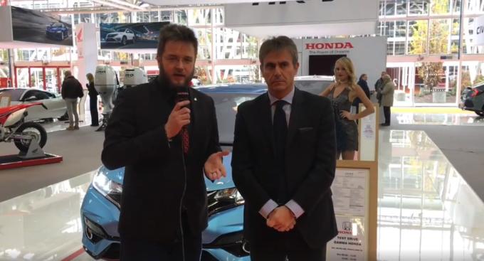 Honda al Motor Show 2017 strizza l'occhio alla sportività [VIDEO INTERVISTA]