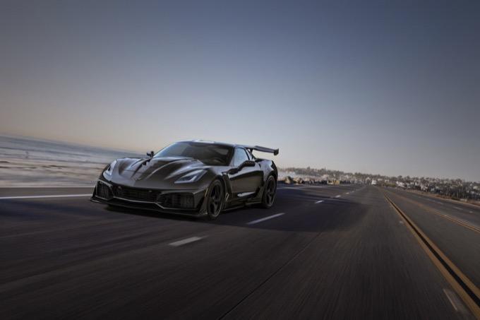 Corvette ZR1: particolare la sigla scelta per identificare il V8 6.2 litri