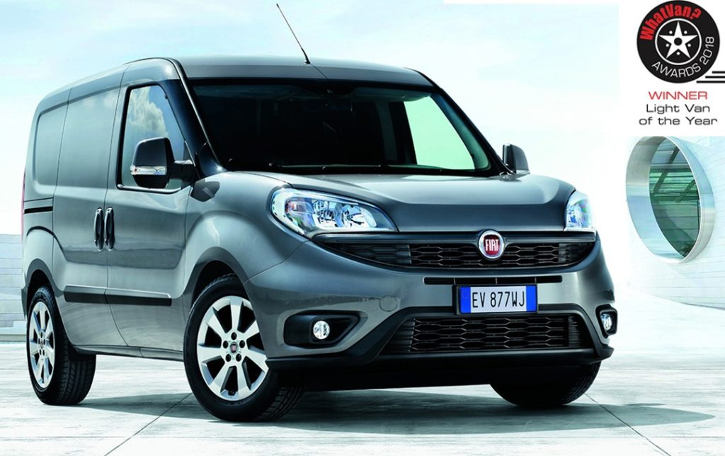 "Fiat Doblo Cargo eletto ancora una volta ""Light Van of the Year"""