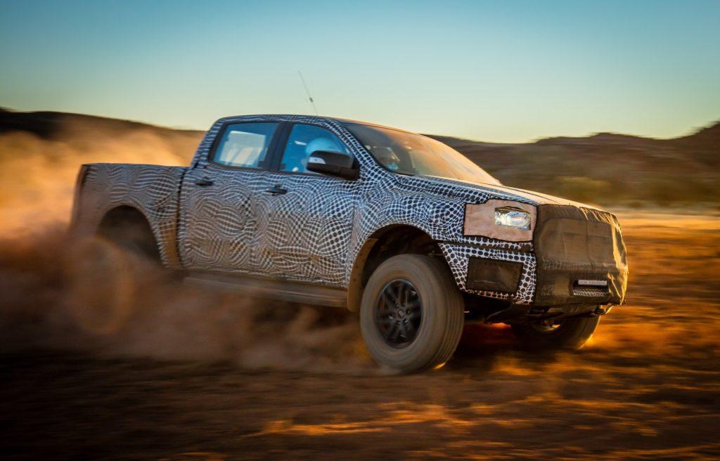 Ford Ranger Raptor: sarà svelata in anteprima il 7 febbraio 2018 a Bangkok