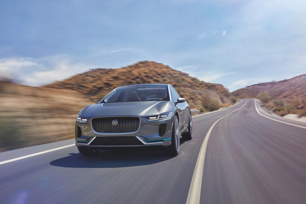 Jaguar I-Pace: la versione di serie sarà presentata al Salone di Ginevra 2018