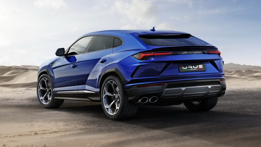 Lamborghini Urus: focus sul design del Super Suv del Toro