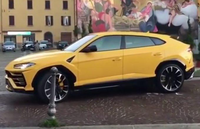 Lamborghini Urus: il sound del motore V8 biturbo 4.0 litri [VIDEO]