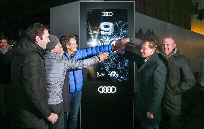 Audi e-tron: dal 2018 la prima elettrica per il Comune di Cortina d'Ampezzo