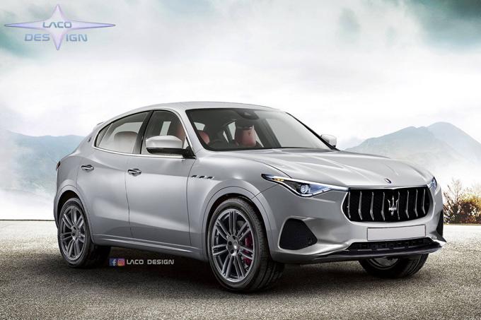 Maserati Ponente: l'ipotesi di un nuovo SUV più compatto [RENDERING]