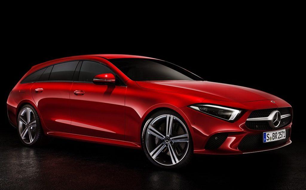 Mercedes CLS Shooting Brake: così s'allunga la nuova generazione [RENDERING]