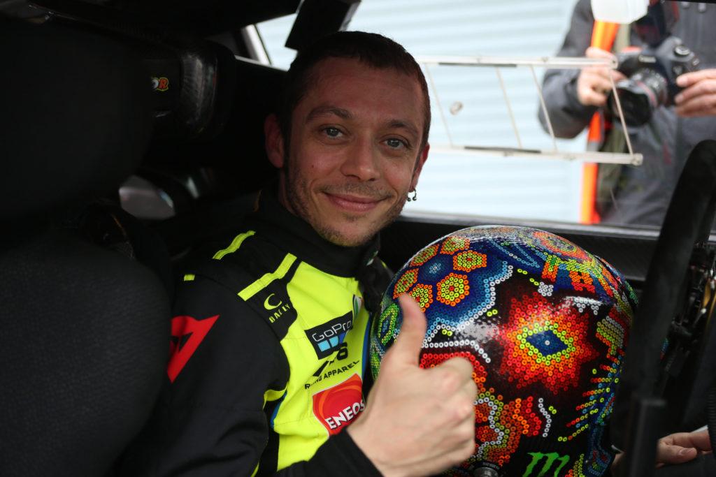 Valentino Rossi ha vinto il Monza Rally Show 2017