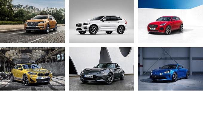 Auto più bella dell'anno 2017: i nomi delle 6 candidate