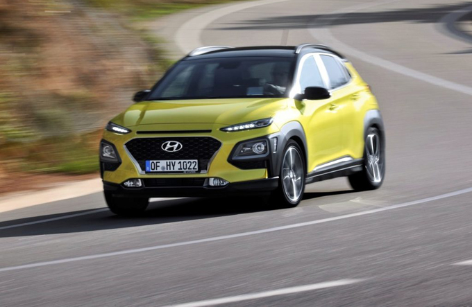 Hyundai Kona: sicurezza a 5 stelle Euro NCAP [VIDEO]