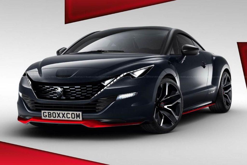 Peugeot RCZ, ipotesi stilistica di una nuova generazione della coupé [RENDERING]
