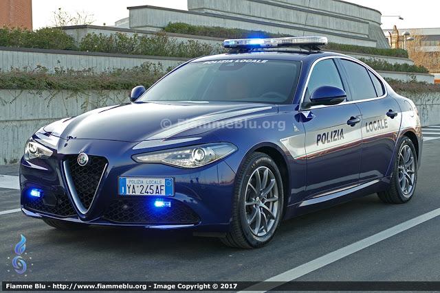Alfa Romeo Giulia Polizia Locale Bardolino