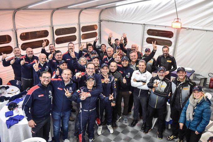 Doppio secondo posto per Ucci-Ussi e Peugeot al Monza Rally Show 2017