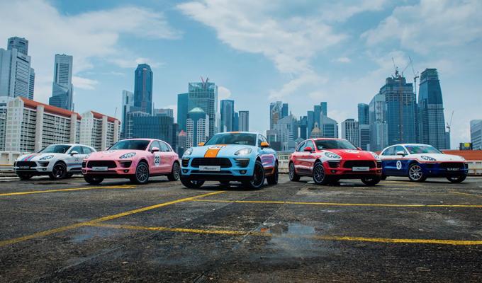 Porsche Macan: livree retrò per 5 esemplari del SUV