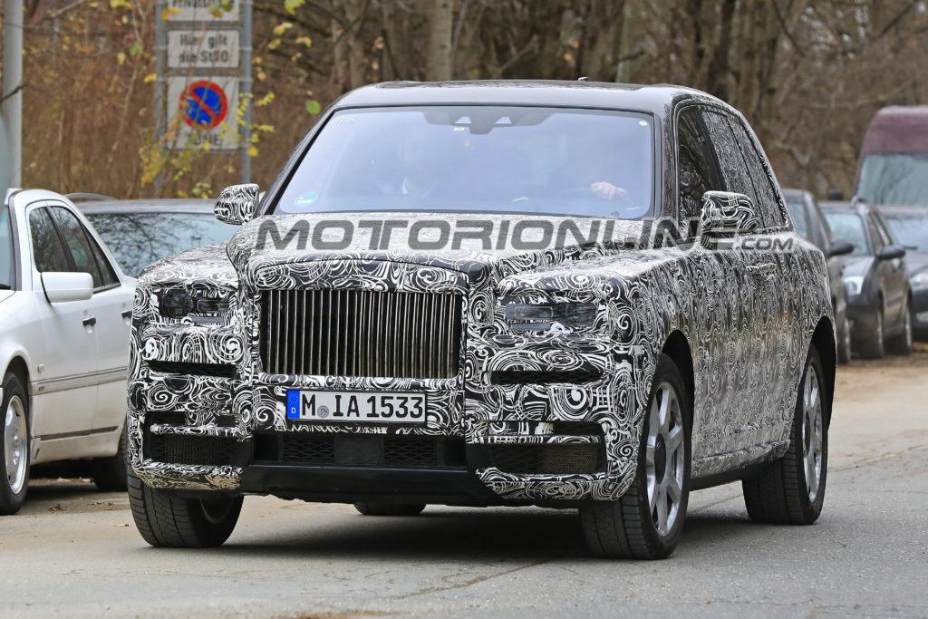 Rolls-Royce Cullinan: Il primo Suv di lusso potrebbe non chiamarsi così