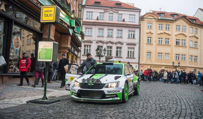 Skoda Fabia R5: le emozioni del Rally per le vie di Praga [FOTO E VIDEO]